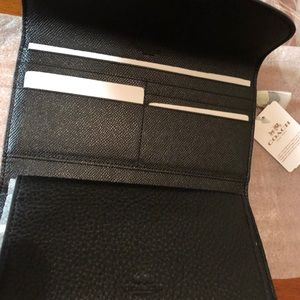 Coach Bags - Coach brand new wallet/check book
